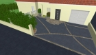 Plan et étude 3D du paysagiste Rambaud Paysage à Saint Philbert de Bouaine